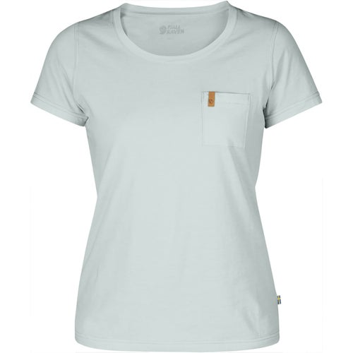 Fjallraven Ovik Ladies T Shirt - Ocean Mist
