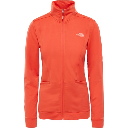 North Face Hikestellar Ladies Fleece - Fire Brick Red