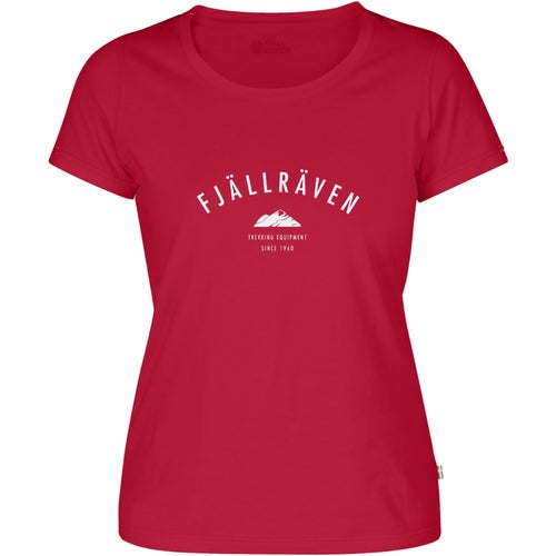 Fjallraven Trekking Equipment Ladies T Shirt - Coral