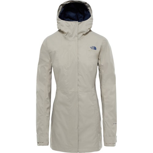 North Face City Midi Trench Ladies Jacket - Crockery Beige