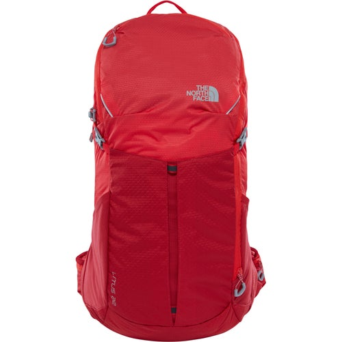 North Face Litus 32 RC Backpack - Rage Red High Risk Red