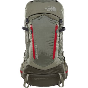 North Face Terra 50 Backpack - Grape Leaf Deep Lichen Green