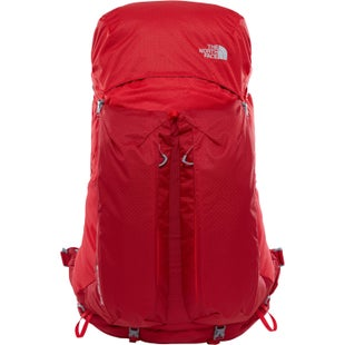 North Face Banchee 65 Backpack - Rage Red High Risk Red
