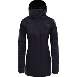 North Face City Midi Trench Ladies Jacket - TNF Black