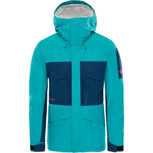 North Face Capsule Fantasy Ridge GTX Jacket - Porcelain Green Blue Wing Teal