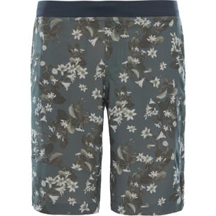 North Face Beyond The Wall Regular Length Walk Shorts - Grape Leaf Night Floral Print