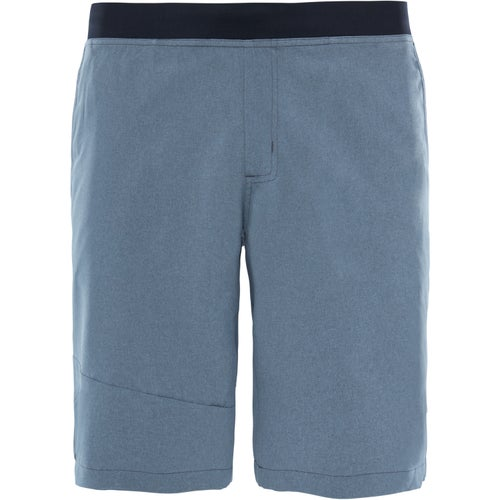 North Face Beyond The Wall Regular Length Walk Shorts - Dark Grey Heather