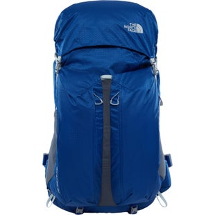 North Face Banchee 50 Ladies Backpack - Sodalite Blue High Rise Grey