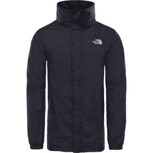North Face Resolve Parka Jacket - TNF Black Grey