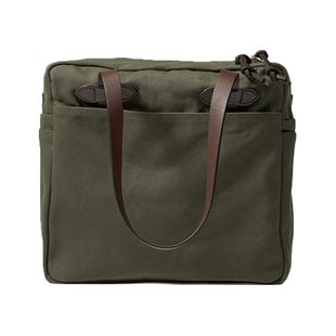 Filson Tote With Zipper Luggage - Otter Green