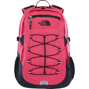 North Face Borealis Classic Backpack - Raspberry Red TNF Black