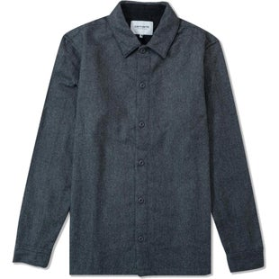 Carhartt L/S Stover Shirt - Dark Grey Heather