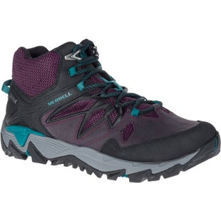 Merrell All Out Blaze 2 GTX Mid Ladies Hiking Shoes - Berry