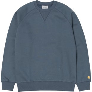 Carhartt Chase Sweater - Stone Blue Gold