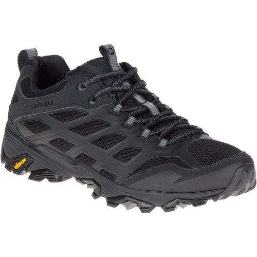 Merrell Moab FST Hiking Shoes - All Black