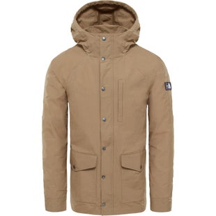 North Face Wax Canvas Utility Jacket - Kelp Tan