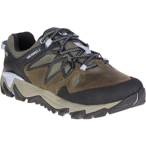 Merrell All Out Blaze 2 GTX Ladies Hiking Shoes - Dark Olive