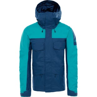 North Face Capsule Fantasy Ridge Jacket - Blue Wing Teal Porcelain Green