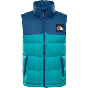 North Face Capsule 1992 Nuptse Vest - Porcelain Green Blue Wing Teal