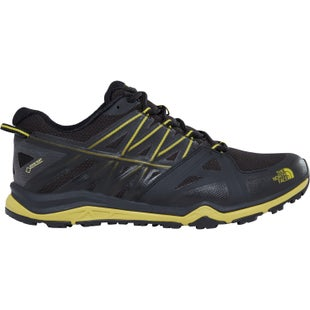 North Face Hedgehog Fastpack Lite II GTX Hiking Shoes - TNF Black Citronelle Green