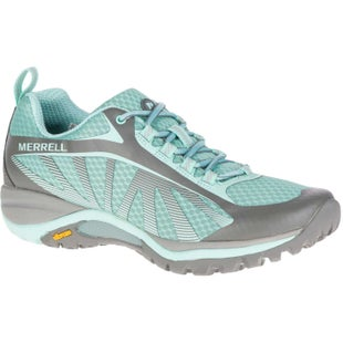 Merrell Siren Edge Ladies Hiking Shoes - Bleached Aqua