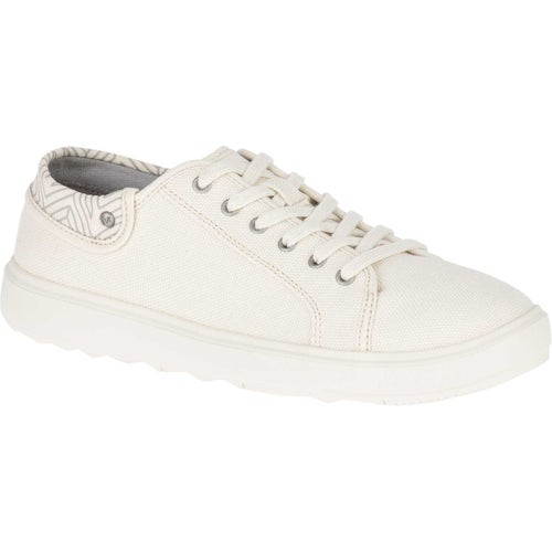 Merrell Around Town City Lace Canvas Ladies Shoes - Whitecap