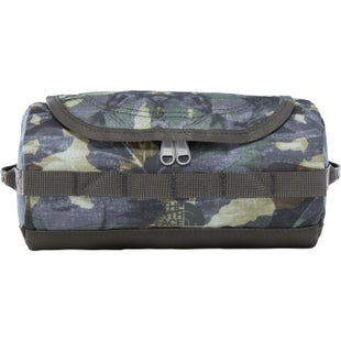 North Face Base Camp Travel Canister Washbag - English Green Tropical Camo New Taupe Green