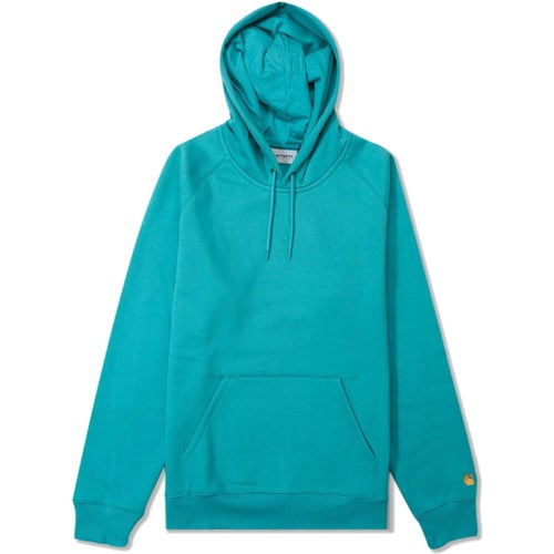 Carhartt Chase Sweater - Soft Teal Gold