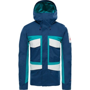 North Face Capsule Fantasy Ridge Jacket - Blue Wing Teal Porcelain Green Vintage White