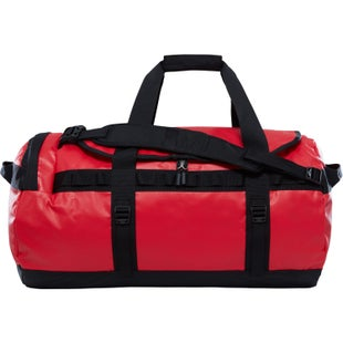North Face Base Camp Medium Duffle Bag - TNF Red TNF Black