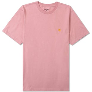 Carhartt Chase T Shirt - Soft Rose Gold