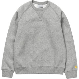 Carhartt Chase Sweater - Grey Heather Gold