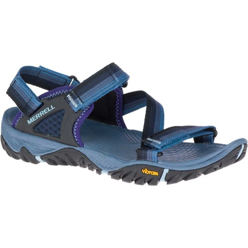 Merrell All Out Blaze Web Ladies Sandals - Bering Sea