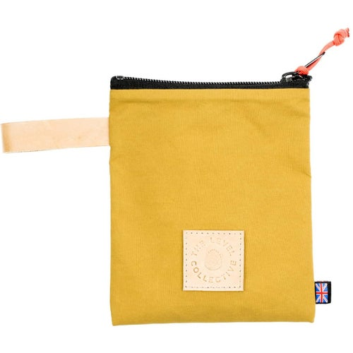 The Level Collective Peaks Utility Pack Washbag - Mustard