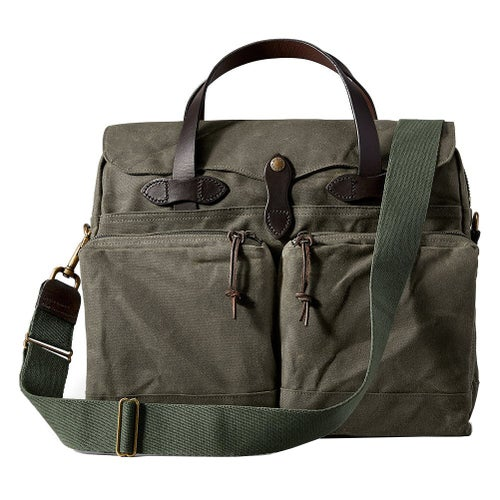 Filson 24-Hour Tin Briefcase Bag - Otter Green