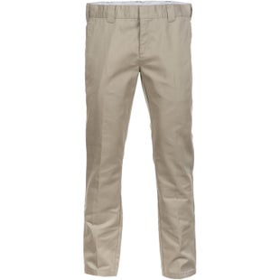 Dickies WP872 Slim Fit Work Pants - Khaki