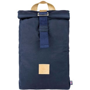 The Level Collective Winnats Roll Top Backpack - Navy