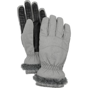 Hestra Primaloft Winter Forest Ladies Gloves - Grey