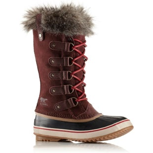 Sorel Joan Of Arctic Faux Fur Ladies Boots - Redwood Red Element