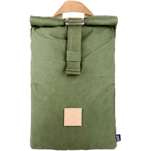 The Level Collective Winnats Roll Top Backpack - Forest