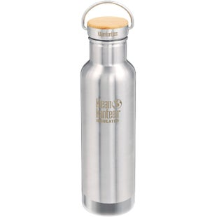 Klean Kanteen 20oz Reflect Vacuum Insulated Water Bottle - Brushed Stainless