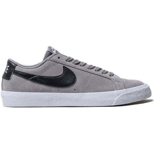 Nike SB Blazer Zoom Low Shoes - Grey