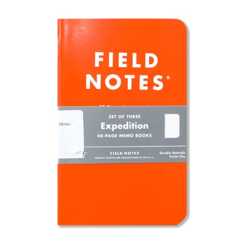 Field Notes Expedition Memo 3 Pack Book