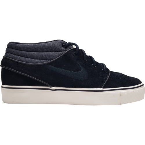 Nike SB Zoom Stefan Janoski Mid Shoes - Black