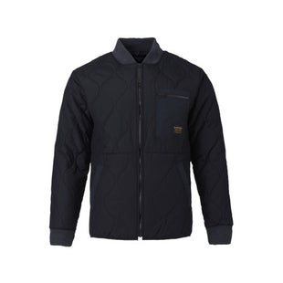 Burton Mallett Bomber Jacket - True Black