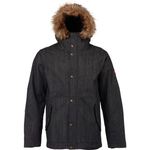 Burton Lamotte Down Jacket - Black Denim