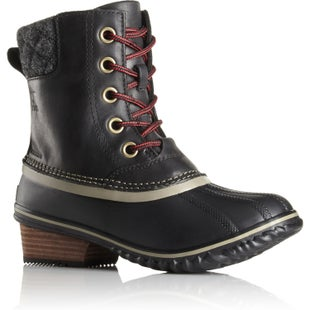 Sorel Slimpack II Lace Ladies Boots - Black Kettle