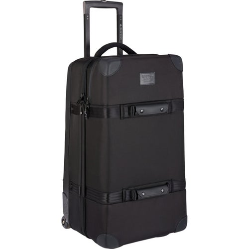 Burton Wheelie Double Deck Luggage - True Black Ballistic