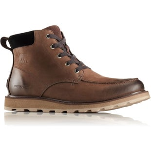 Sorel Madson Moc Toe Waterproof Boots - Bruno Black