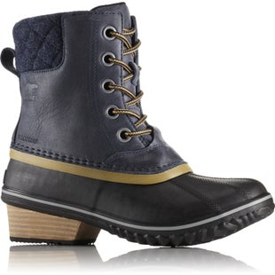 Sorel Slimpack II Lace Ladies Boots - Collegiate Navy Glare